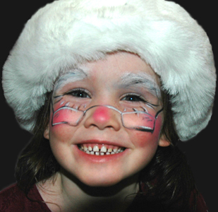 FaceART - Artistic face painting for your event - Mrs Claus
